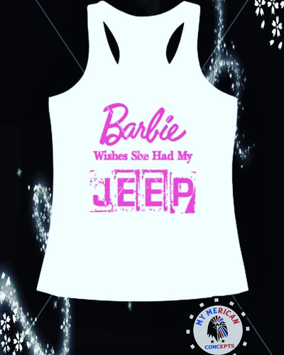 Barbie Wishes She Had My Jeep Tank!