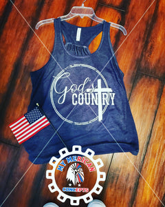 God's Country- Tank!