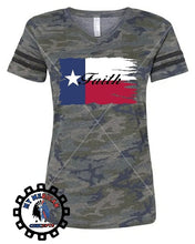 "Load image into Gallery viewer, ""Faith"" Texas Edition- Women's Shirt!"