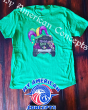 Load image into Gallery viewer, Mardi Gras Jeep Edition shirt!