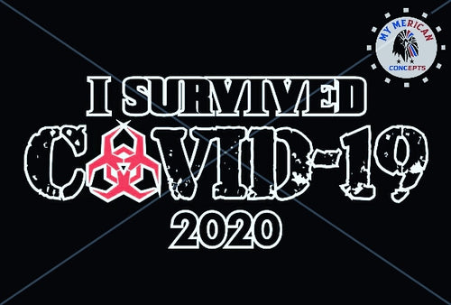 I Survived Covid-19 2020 Decal!