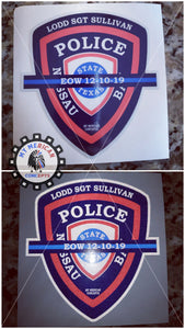 SGT Sullivan Reflective Decal!