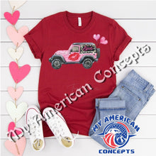 Load image into Gallery viewer, Valentines Day Jeep Edition Shirt!