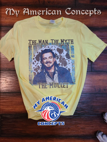 The Man The Myth The Mullet- T-Shirt!!!