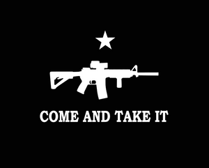Come and Take it Decal!