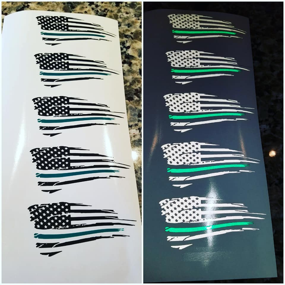 Military Edition Distressed Flags!
