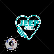 Load image into Gallery viewer, Heart Jeep Girl Shirt!