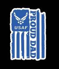 Load image into Gallery viewer, U.S Proud Dad Military Decal
