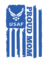 "Load image into Gallery viewer, ""U.S Proud Mom"" Military Decal!"