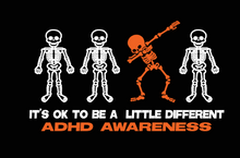 "Load image into Gallery viewer, ""It's Ok to be a little different"" ADHD Awareness Unisex Shirts!"