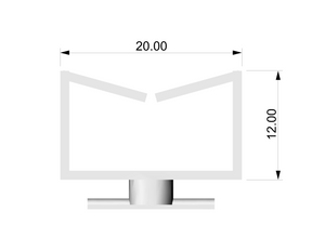 XRLBHE - Xarisma Light Box Holder Part E