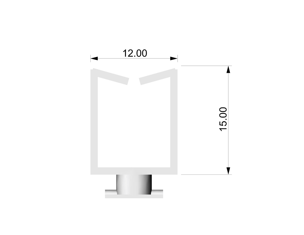 XRLBHF - Xarisma Light Box Holder Part F