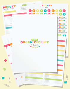 The Organized Life Planner Printables Bundle