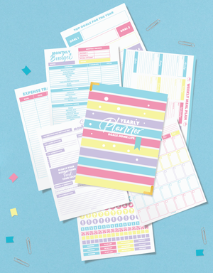 printable home planner to organize everything in your life - printable home planning system