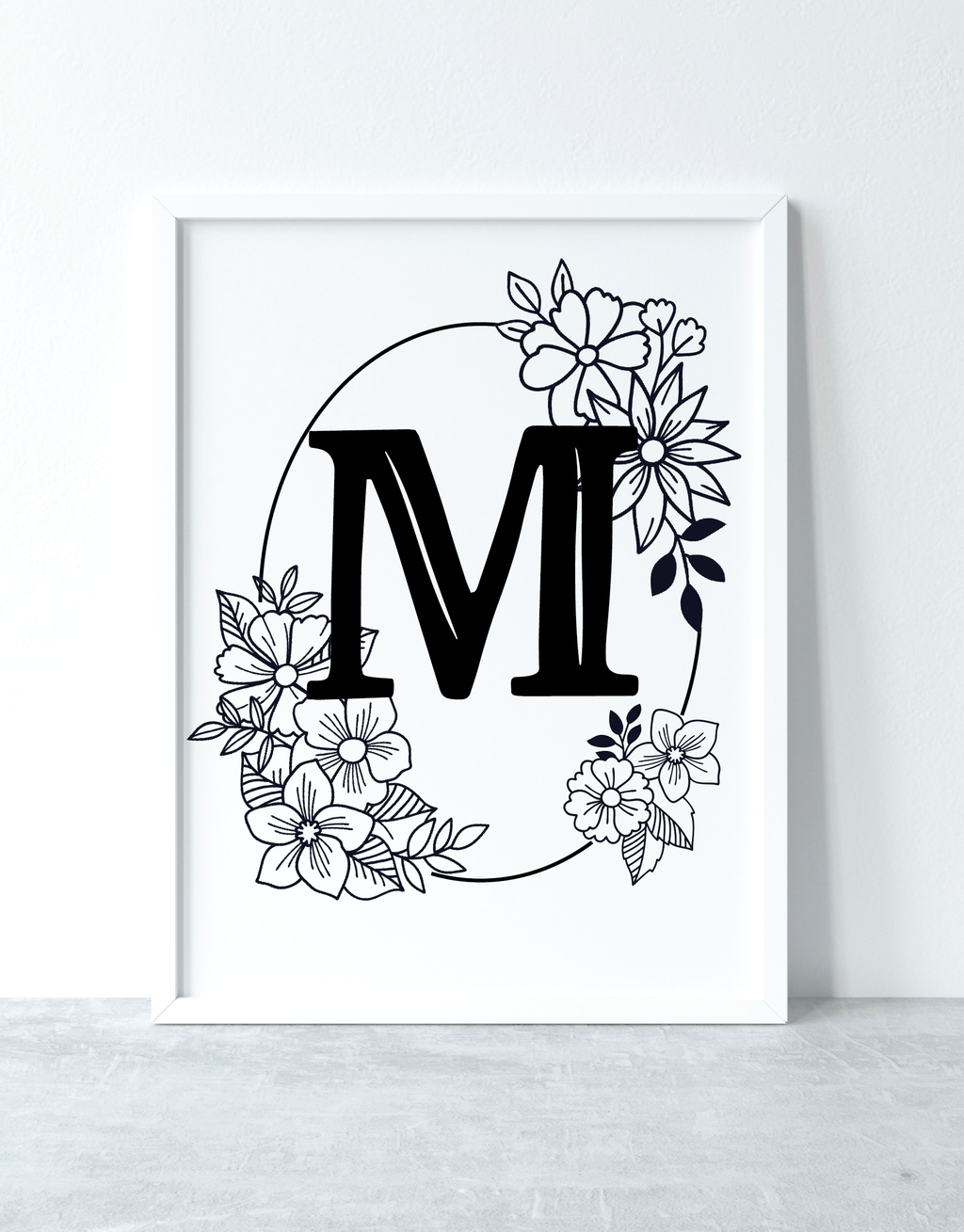Alphabet Monogram Set (27 Pages)