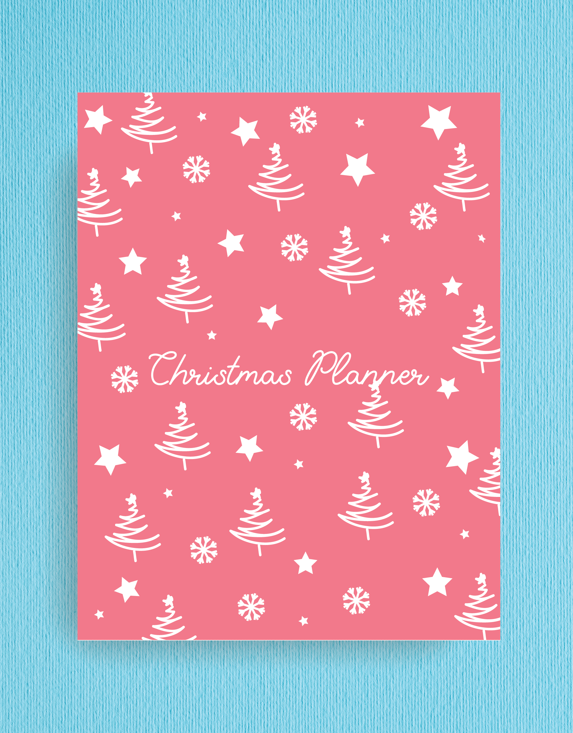Printable Christmas Planner To Organize the holidays