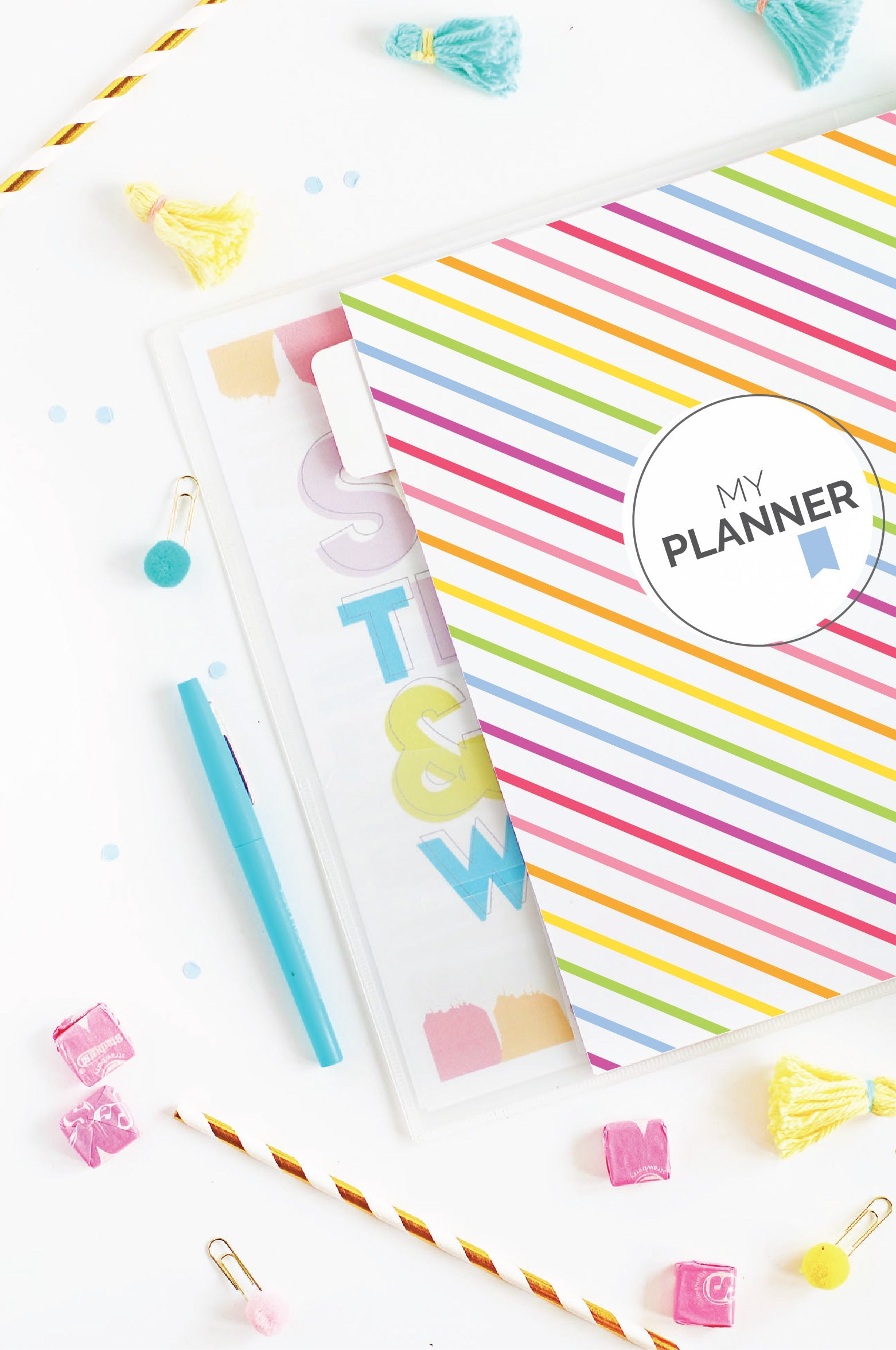 My Printable Planner | 20 Page Set