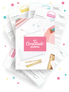 Weekly Gratitude Journal (8 Pages)