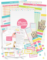 The Complete Organized Home Planner (100+ pages!)