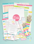The Complete Organized Home Planner Kit (100+ pages!)