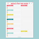 The Ultimate Meal Planner Kit