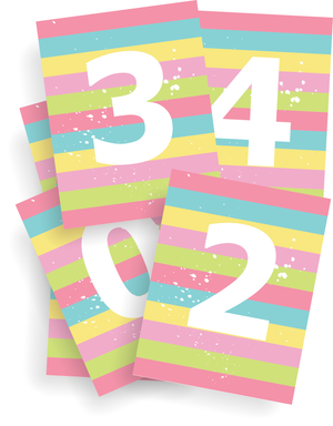 Numbers Printable Kit (10 Pages)