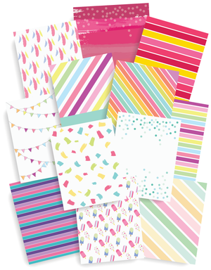 12 Page Planner Covers | Patterned Dividers