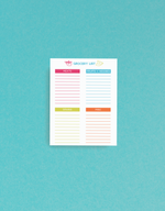 printable recipe planner
