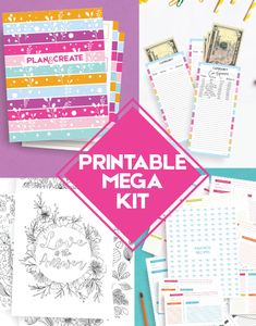 Printable Mega Kit 2