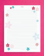 daily planner notes page printable