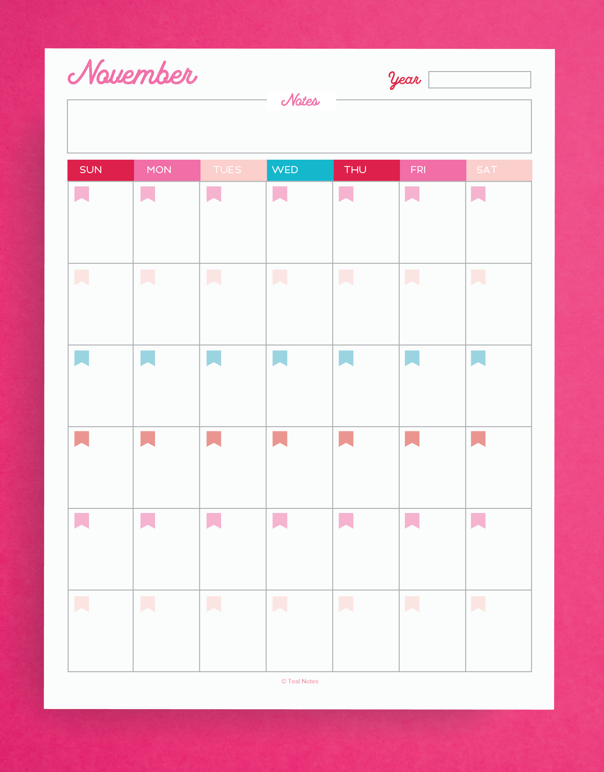 Spring Planner Printable Kit (31 pages!)