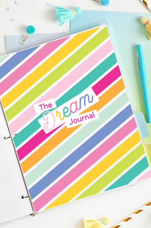 The Dream Journal Printable Set