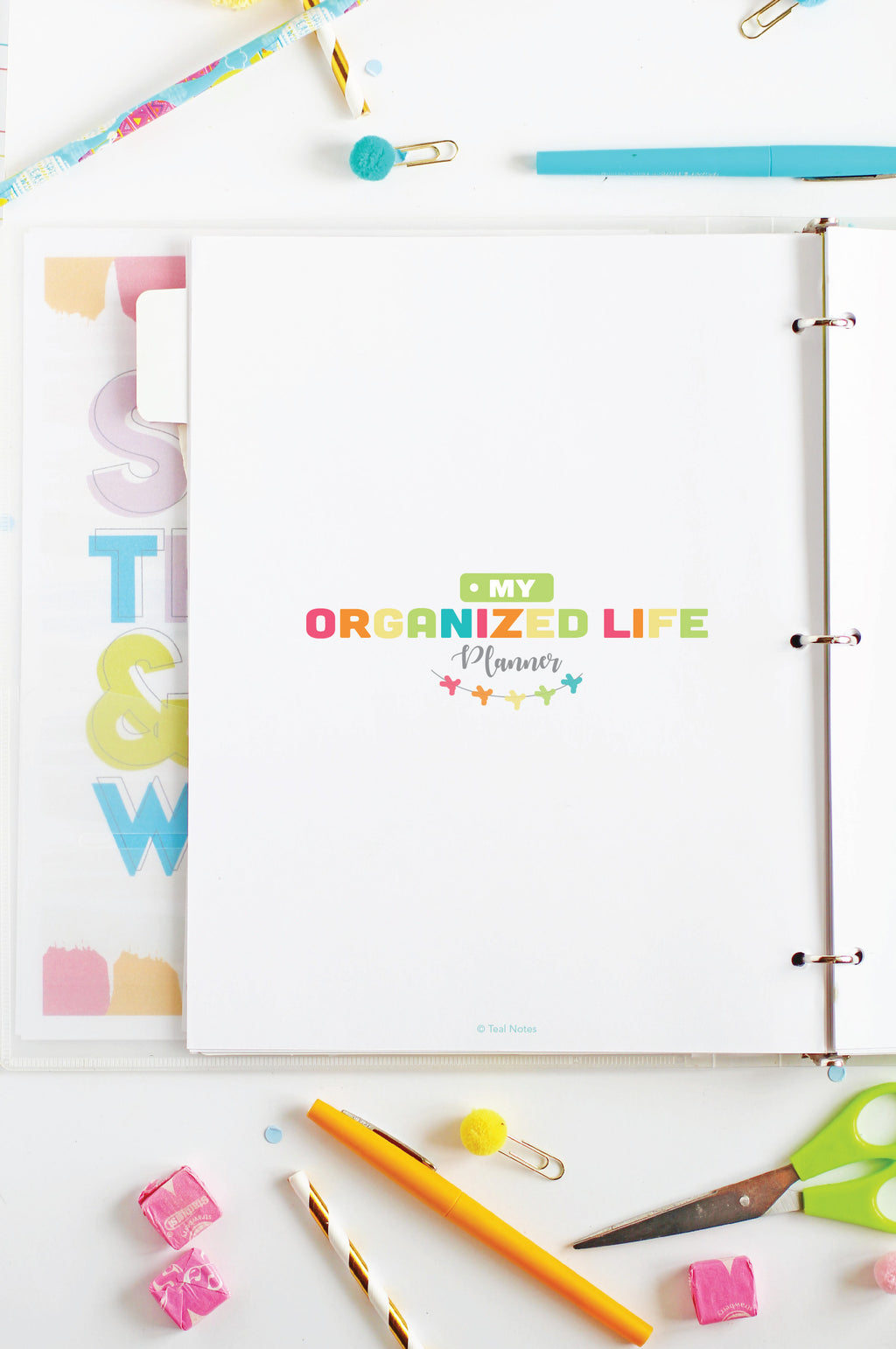 The Organized Life Planner Printables Kit