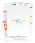 The Organized Life Planner Printables