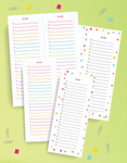 2 Page To-Do List Printable Mini Kit