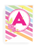 Unicorn Party Banner Alphabet Kit! (28 Pages)
