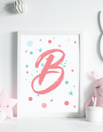 Alphabet Framable Wall Art (27 Pages)