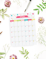 12 Month Fillable Calendar Kit