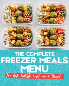 The Freezer Meals Menu Handbook
