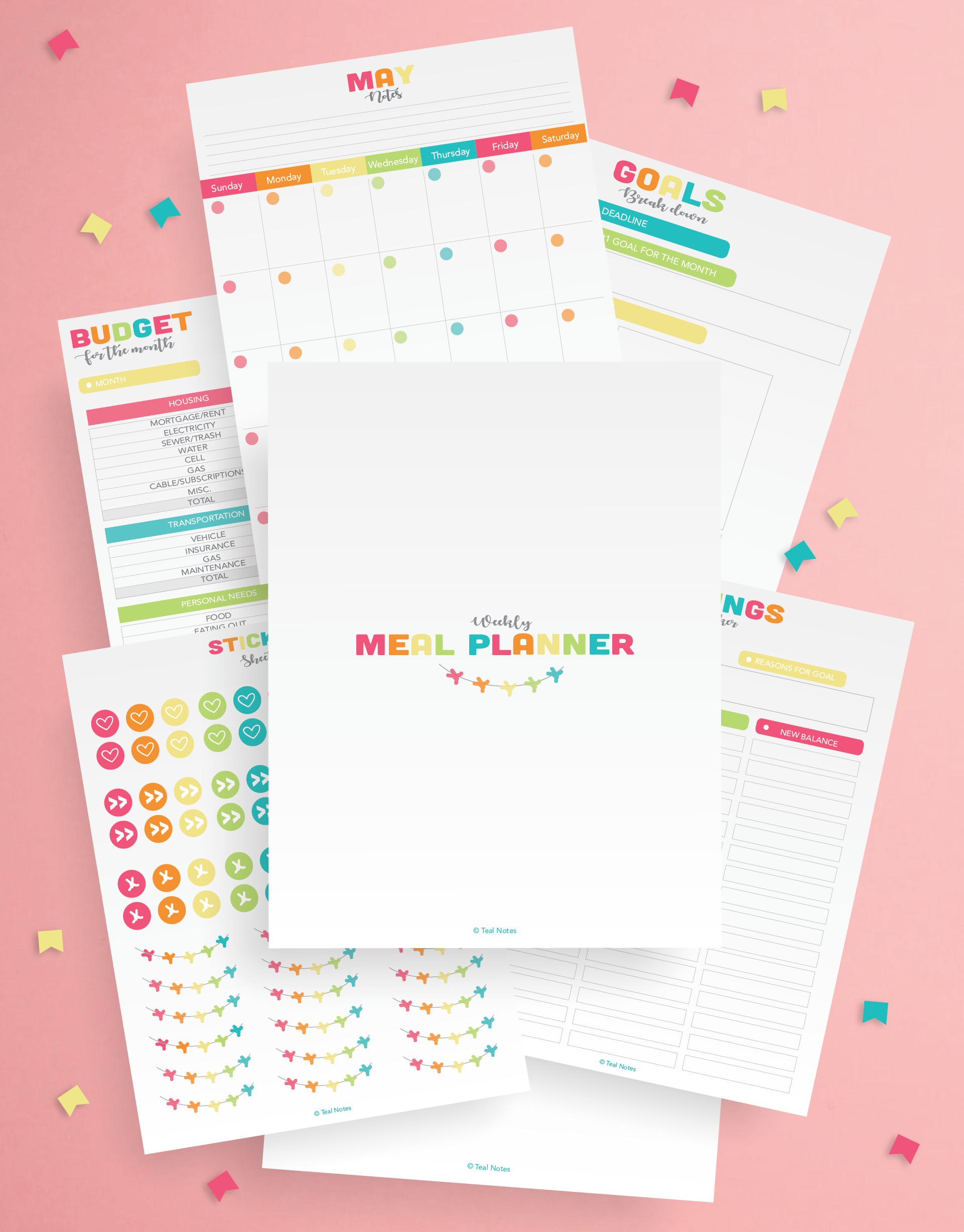 The Organized Life Planner Kit