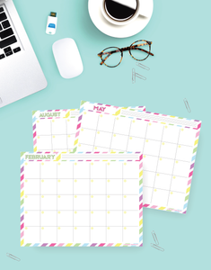 printable fill in calendar 2020 beautiful and gorgeous design
