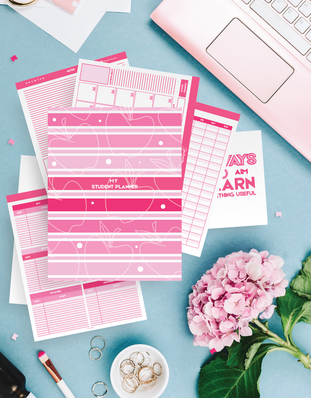 32 Page Student Planner Kit!