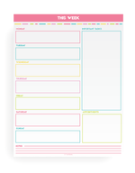 The Complete Organized Home Planner Kit (130+ pages!)