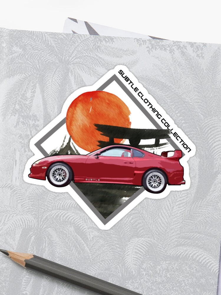 Subtle Supra Sticker