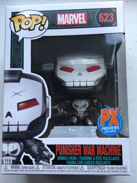 Marvel Punisher Previews exclusive War Machine #623