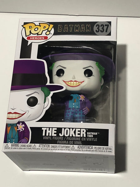 The Joker 1989 Batman Funko pop #337