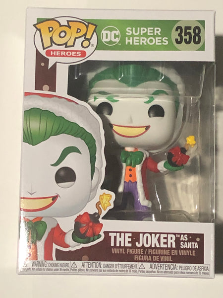The Joker as Santa Funko POP Holiday #358