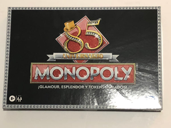 Monopoly 85th Anniversary Edition-Espanol version