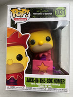 The Simpsons Homer Jack-in-the-Box Pop! Vinyl Figure(In hand )