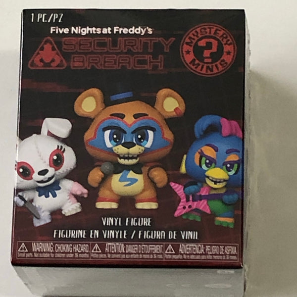 Five knights at Freddy's mystery mini figures. funko